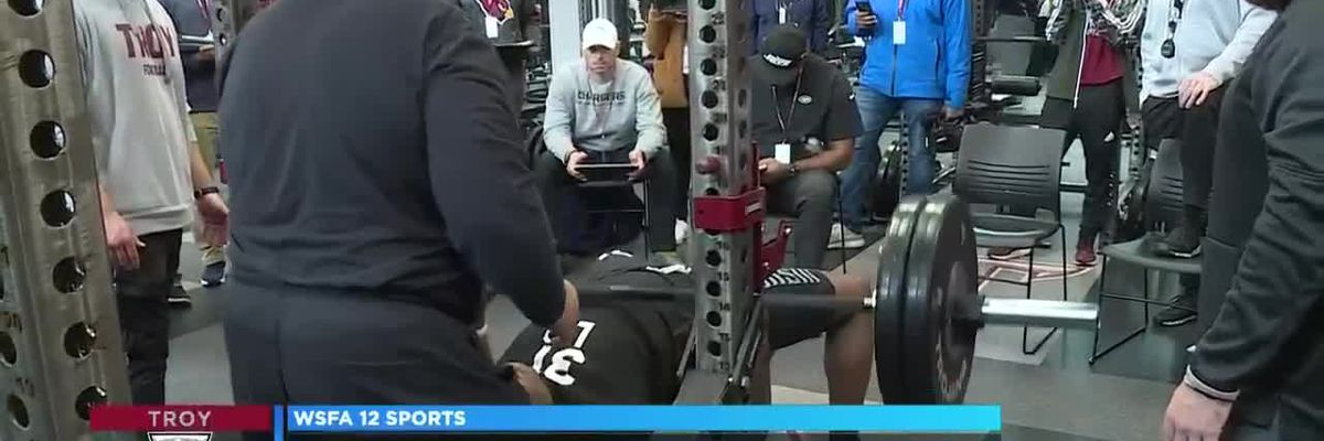 Troy Trojans get crack at impressing scouts at Pro Day