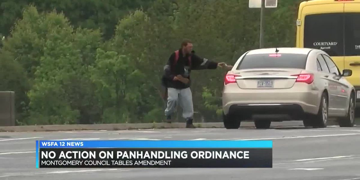 Members vote not to take action on panhandling ordinance