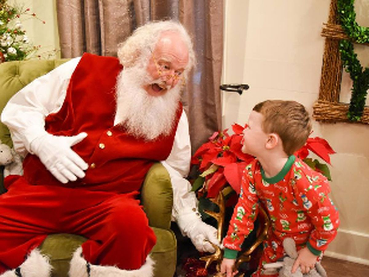 Shoppes at EastChase offering Senory Santa Thursday