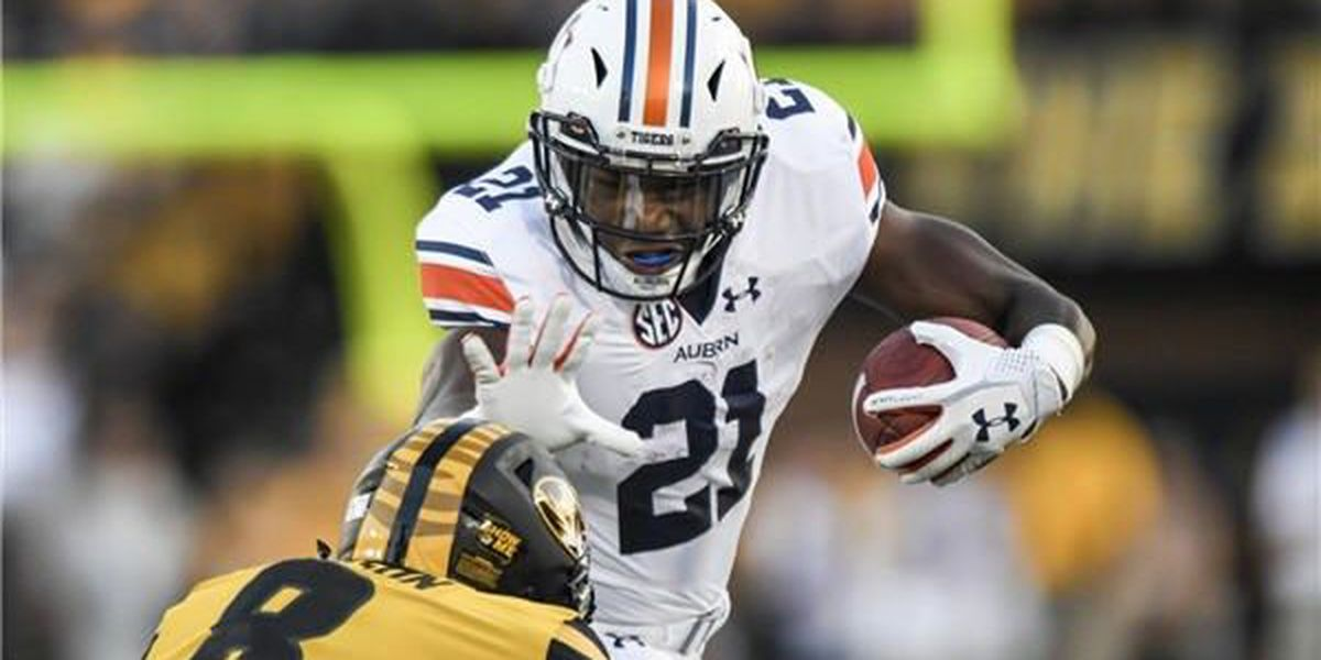 Kerryon Johnson: 5TDs in return, No. 15 Auburn throttles Missouri 51-14