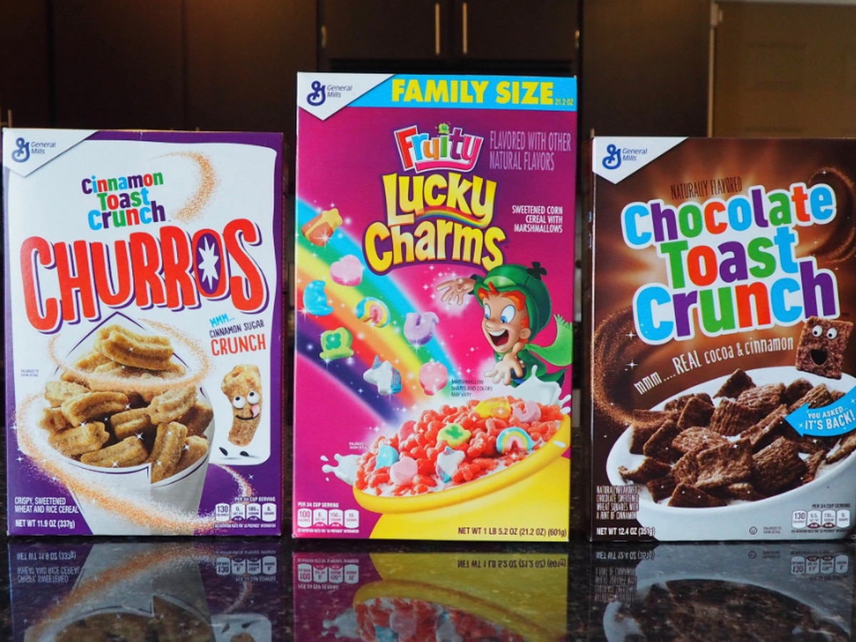 General Mills announces churros cereal, Chocolate Toast Crunch, and Fruity Lucky Charms