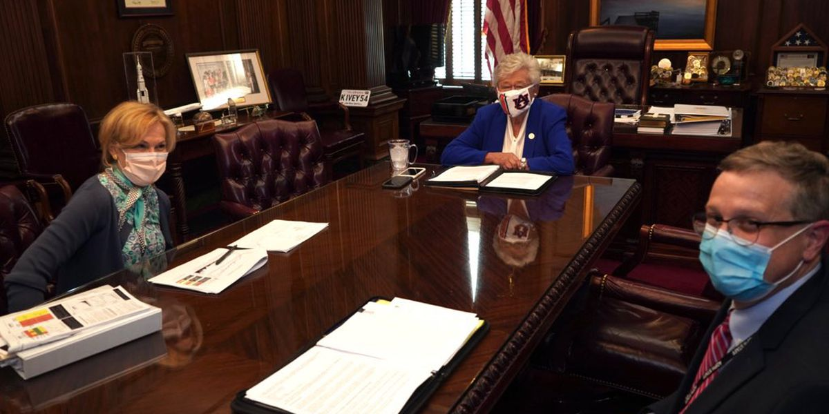 Dr. Birx's COVID-19 worries prompted Alabama meeting, Ivey's office says