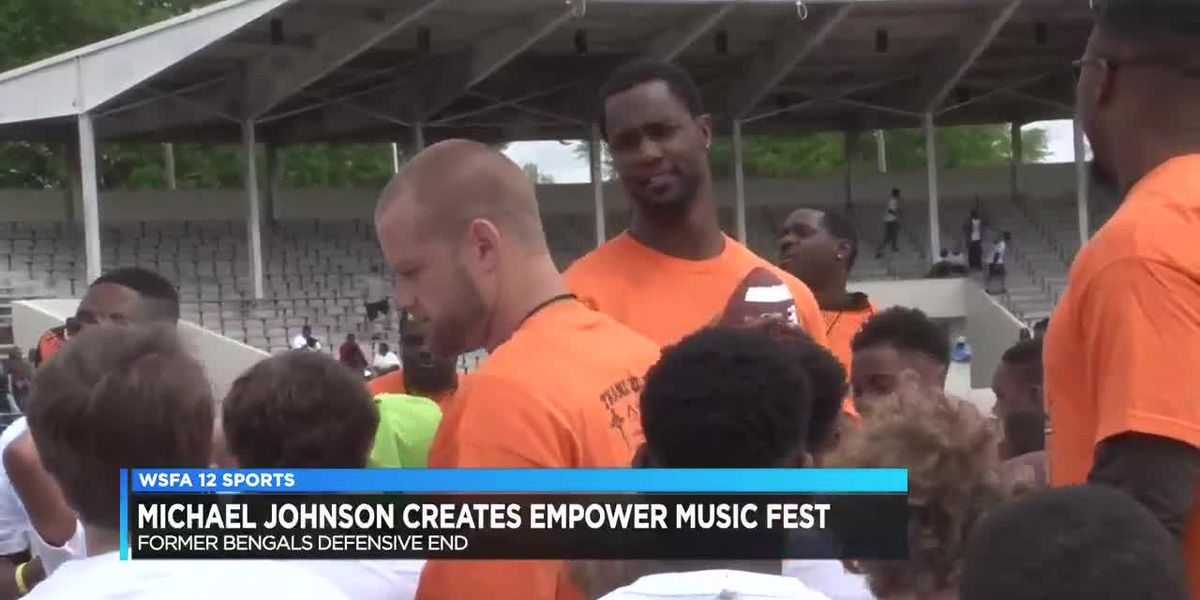 Michael Johnson promotes new event