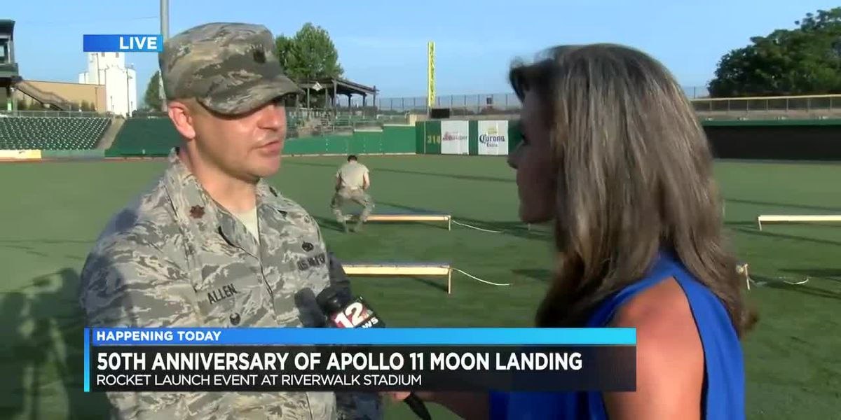 Montgomery marks 50th anniversary of Apollo 11 with launch