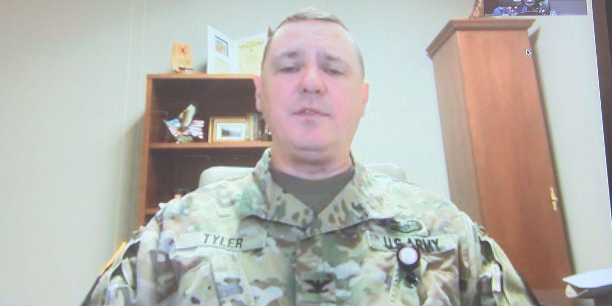 Alabama National Guard addresses violence at US Capitol