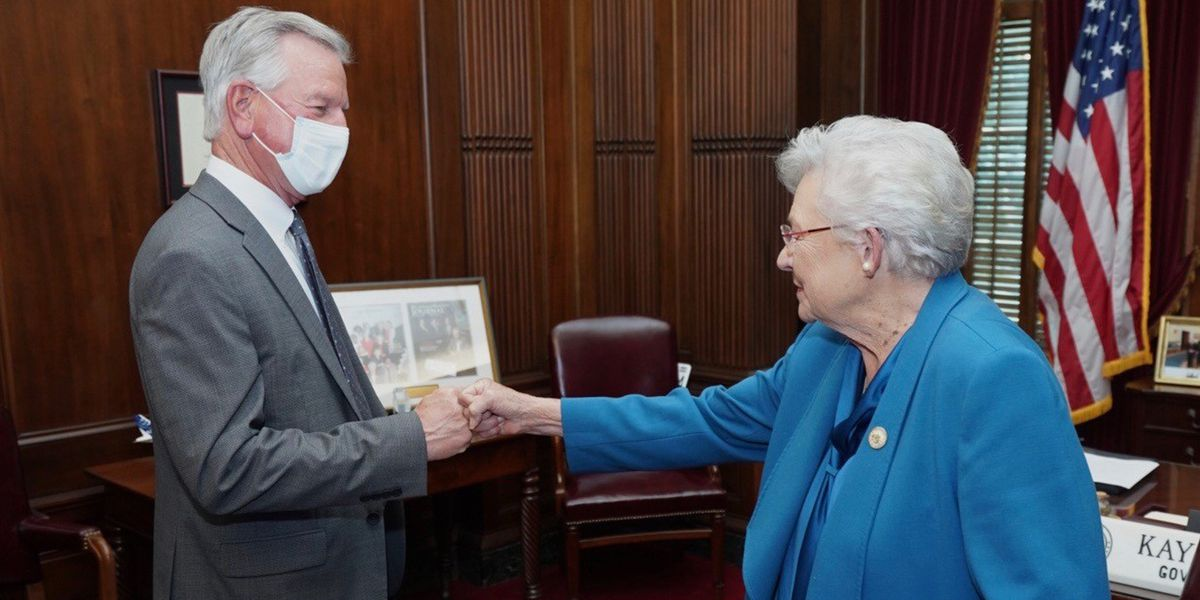 Governor Ivey meets with Senator-Elect Tommy Tuberville
