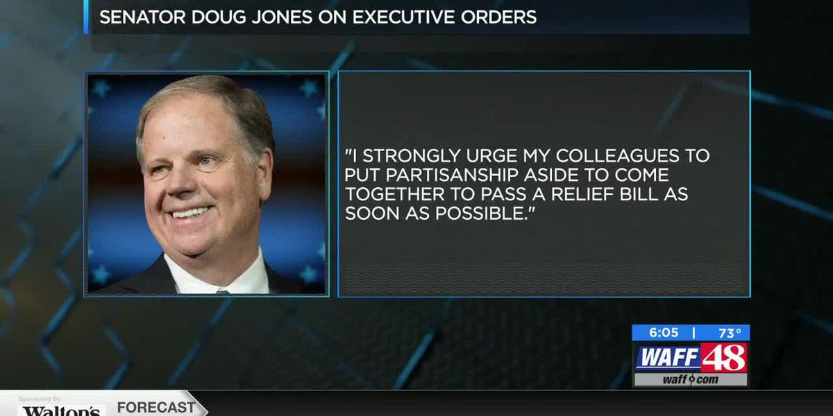 Sen. Doug Jones responds to new Trump executive orders