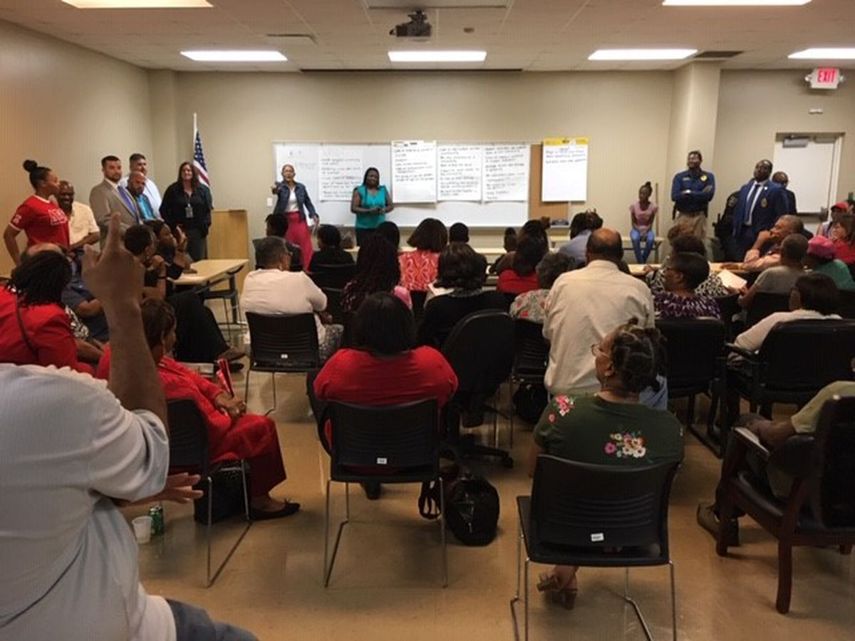'Stop the Violence Listening Session' draws big crowd