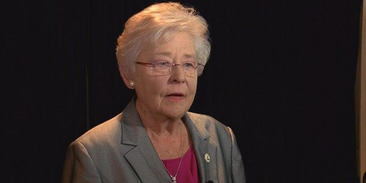 Kay Ivey reflects on first year in office as AL governor