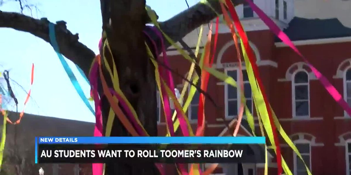 Auburn students want to roll Toomer's rainbow