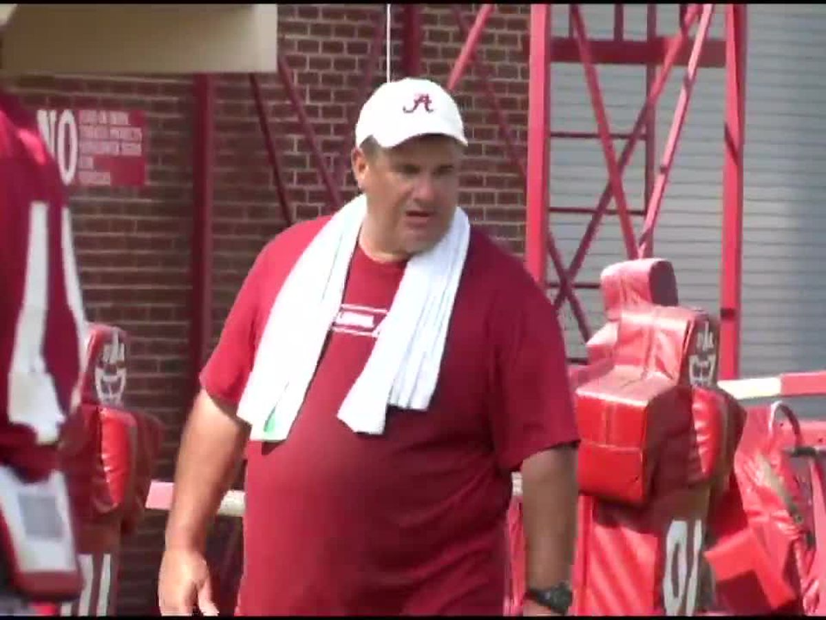 Bama Assistant Coach Sal Sunseri is all about the love with a butt-chewing