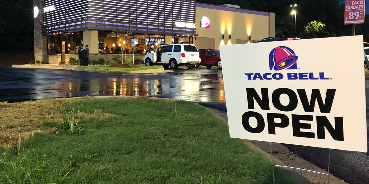 Montgomery Taco Bell opens 8 months after fire