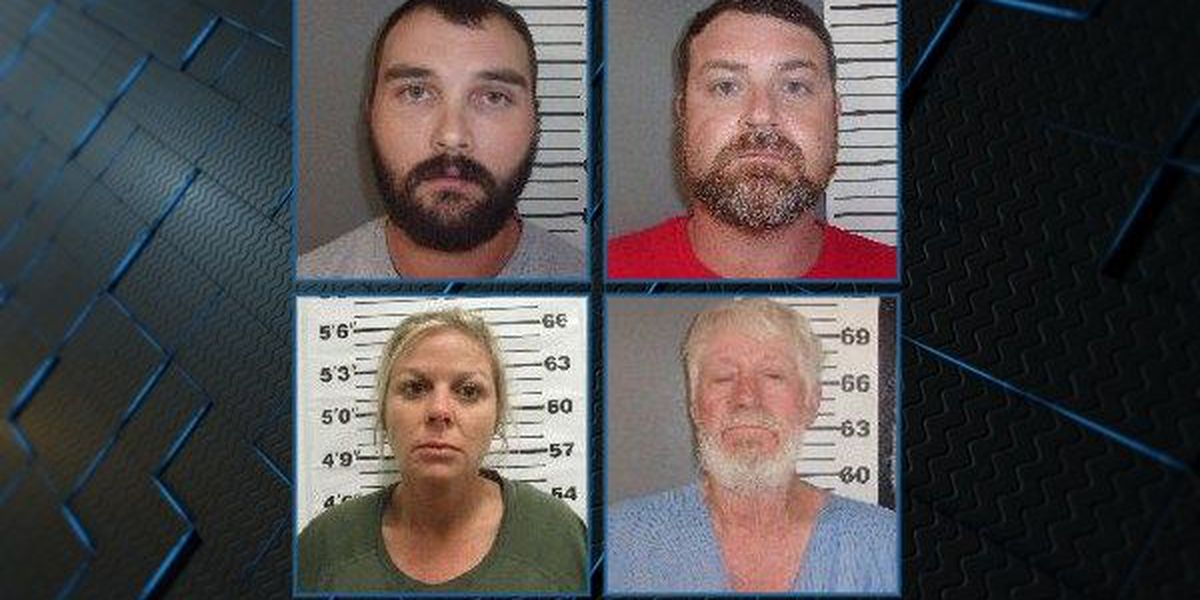 4 charged with murder in Covington County
