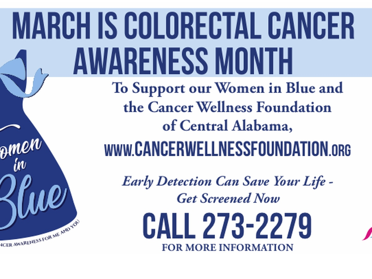 Women in Blue Campaign kicks off to raise awareness about colorectal cancer