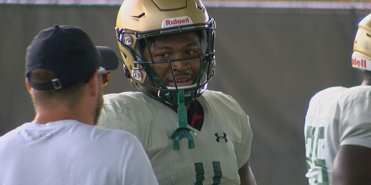 Spencer Brown shows out during UAB's 1st scrimmage of fall camp