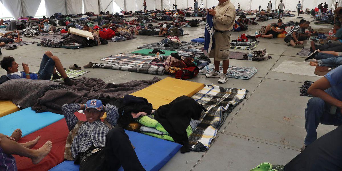 Migrant caravan approaches Texas borderlands as asylum policies stiffen