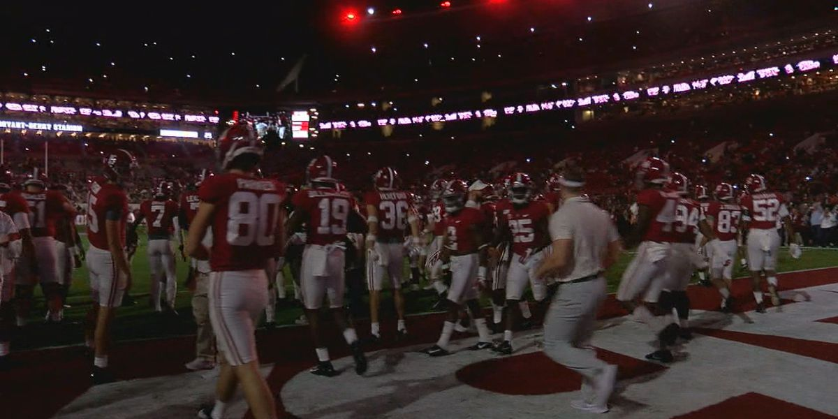 What will game day look like in Tuscaloosa this weekend?