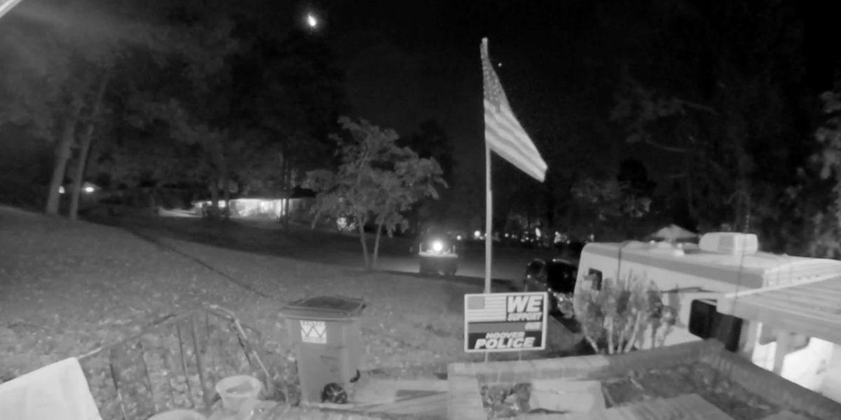 VIDEO: Bright fireball meteor confirmed over Central Alabama