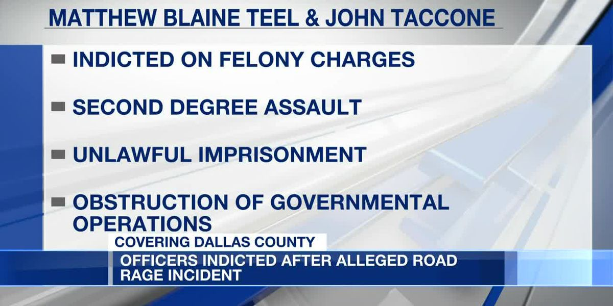 2 former Dallas County lawmen indicted in alleged assault