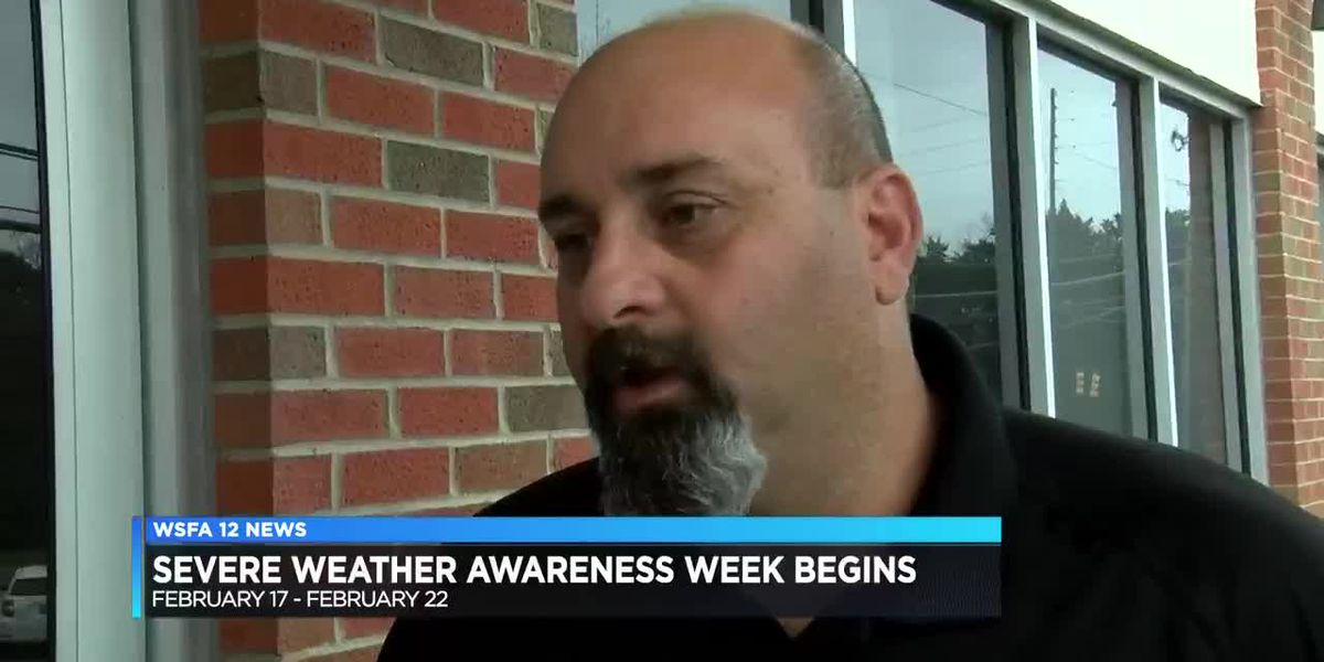 Severe Weather Awareness Week begins