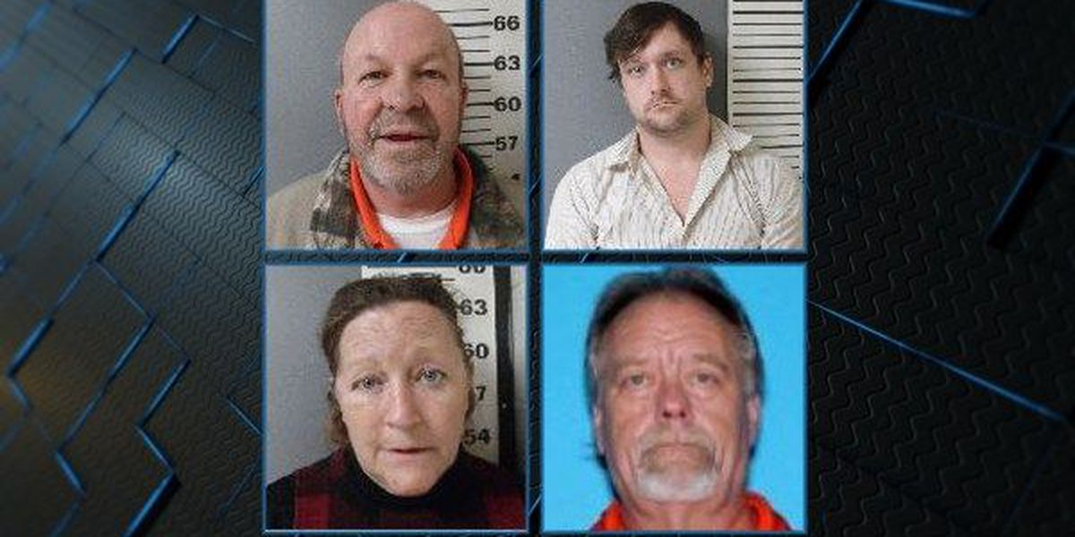 4 charged with trying to get contraband into Covington County Jail