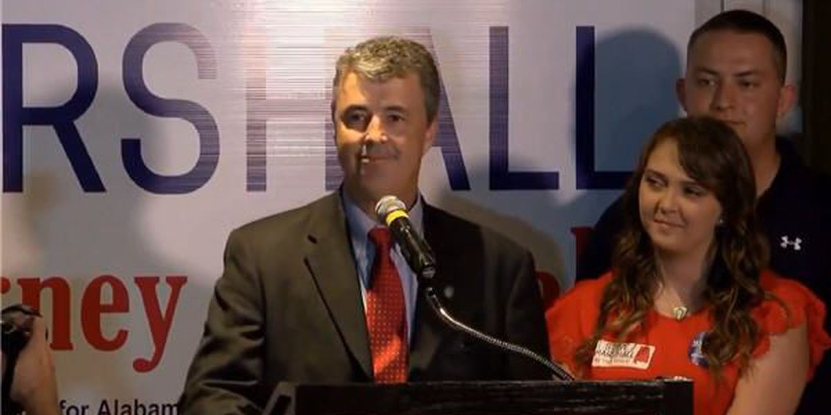 Marshall wins GOP nomination for attorney general