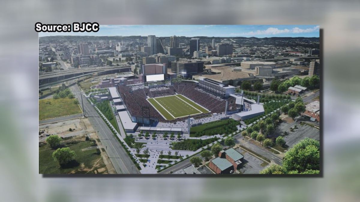 Conceptual design approved for Protective Stadium at BJCC
