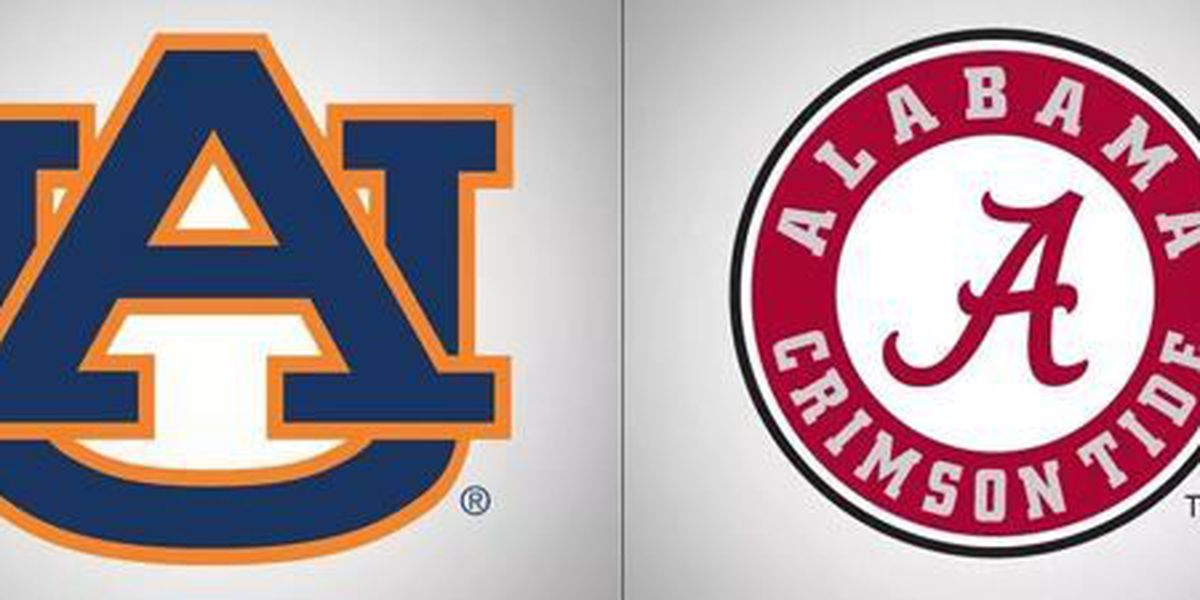 Kickoff times secured for first quarter of Alabama, Auburn schedules