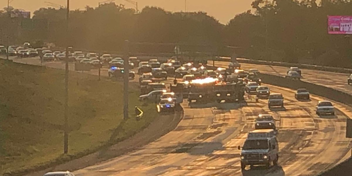 Man injured in I-85 crash identified as tow truck driver