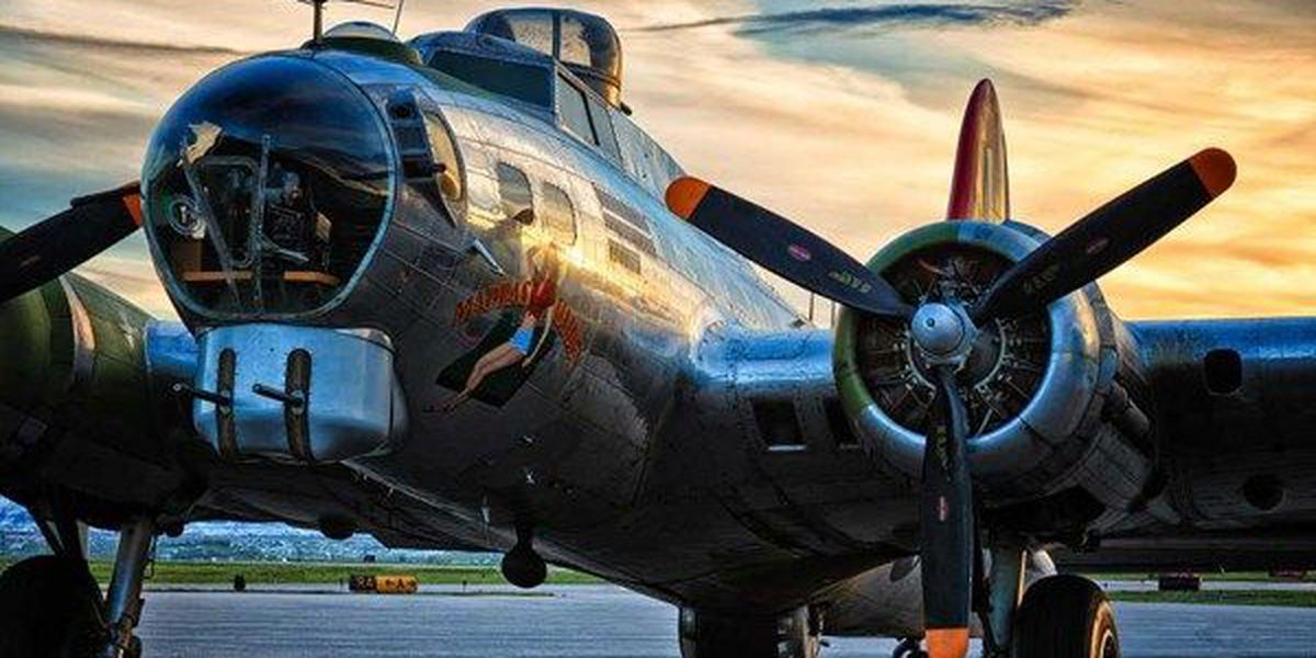 Flying museum lands in Montgomery, tour a restored B-17