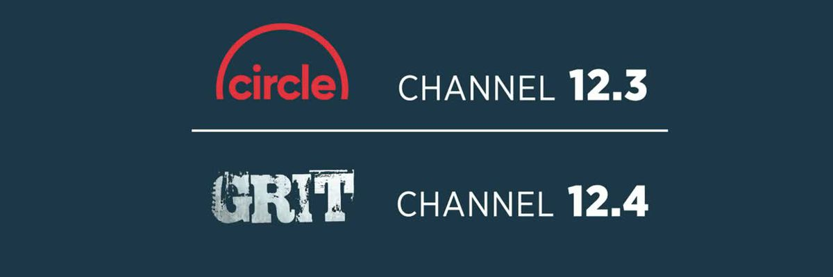 How to rescan to get Circle and Grit TV