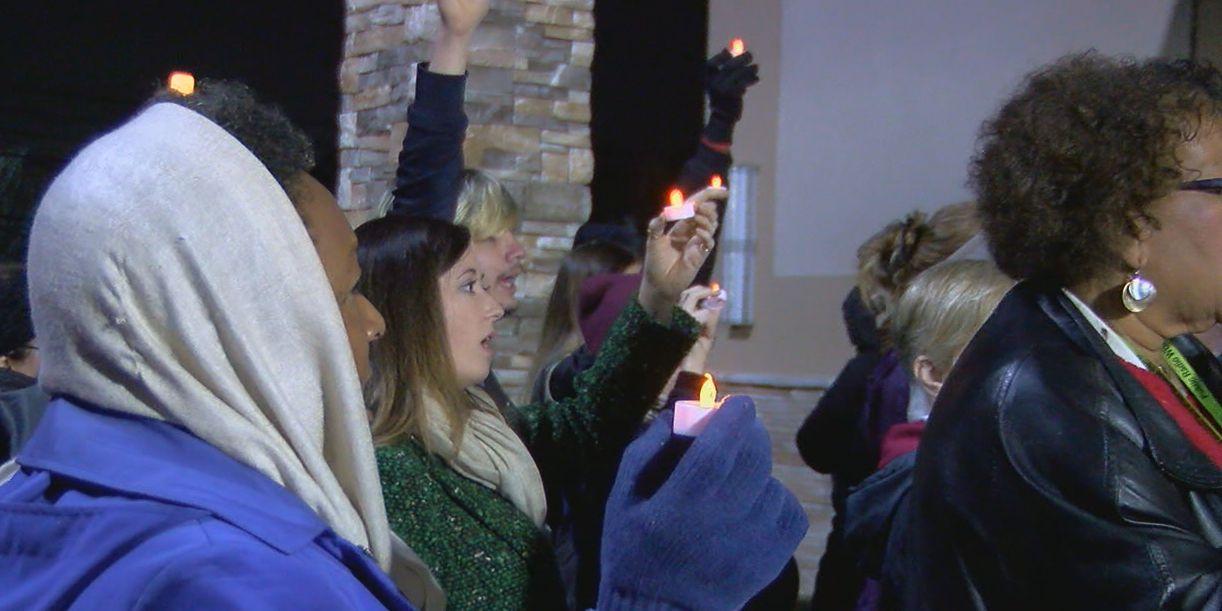 Family holds vigil for EJ Bradford