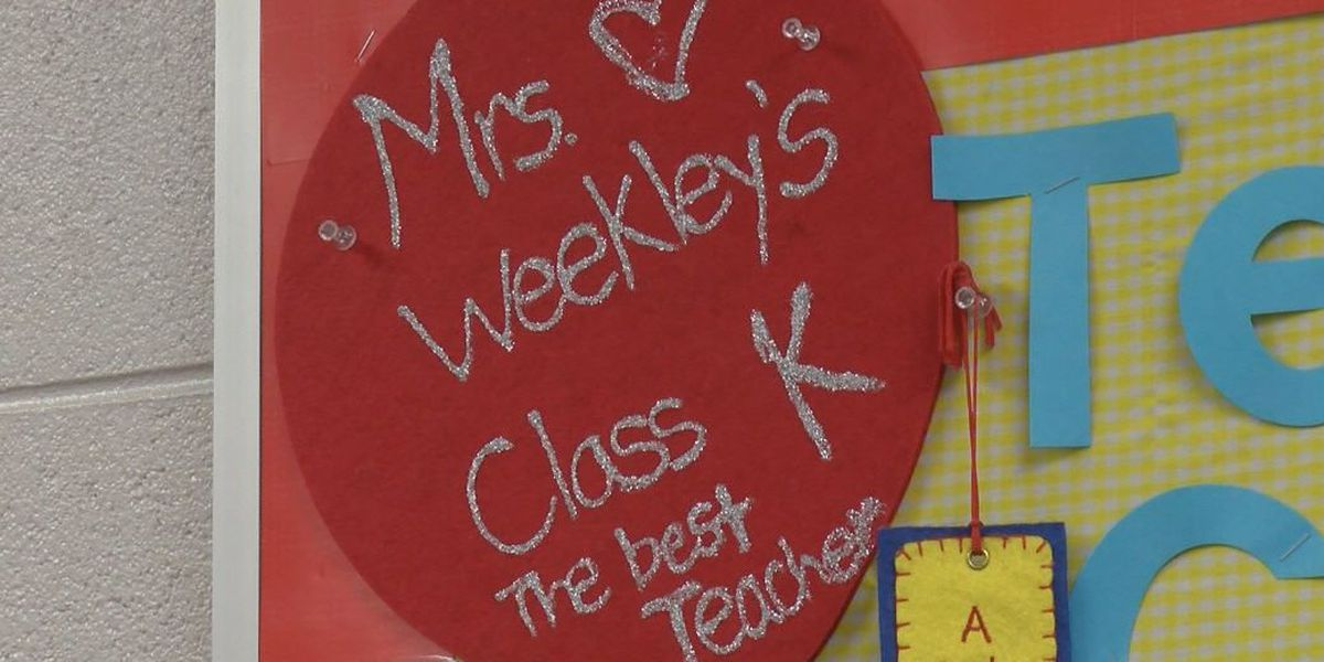 Compassion filled classroom at Coosada Elementary