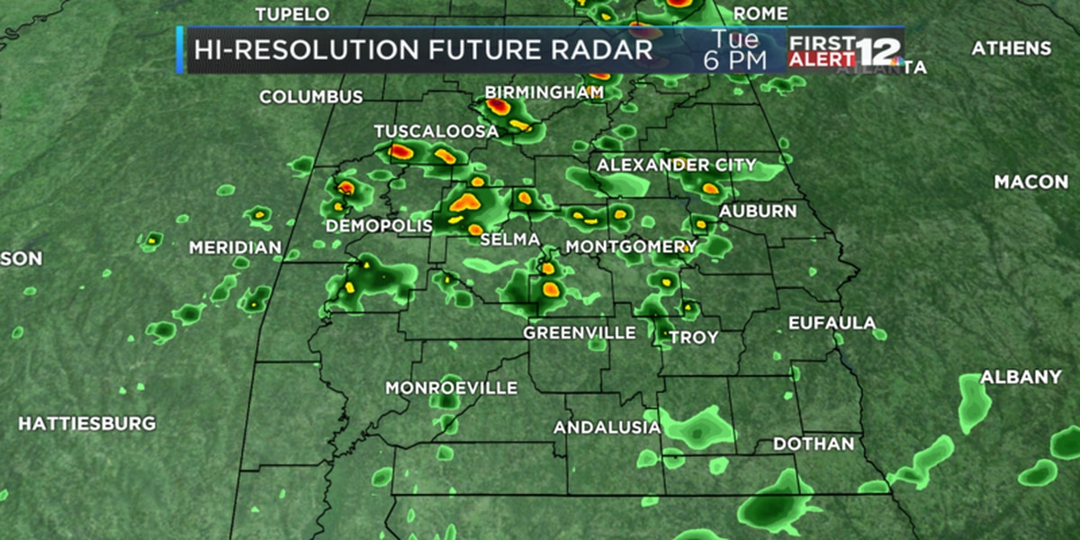 Weather Blog: Patchy rain, rising temperatures