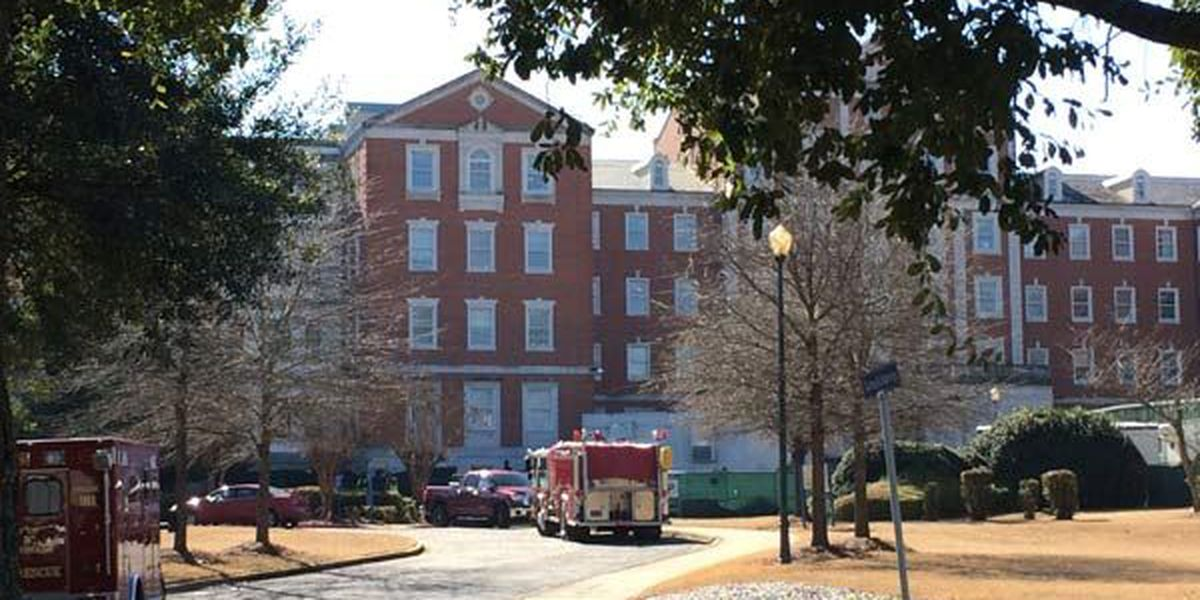 Construction worker pulled from cave-in at Montgomery VA