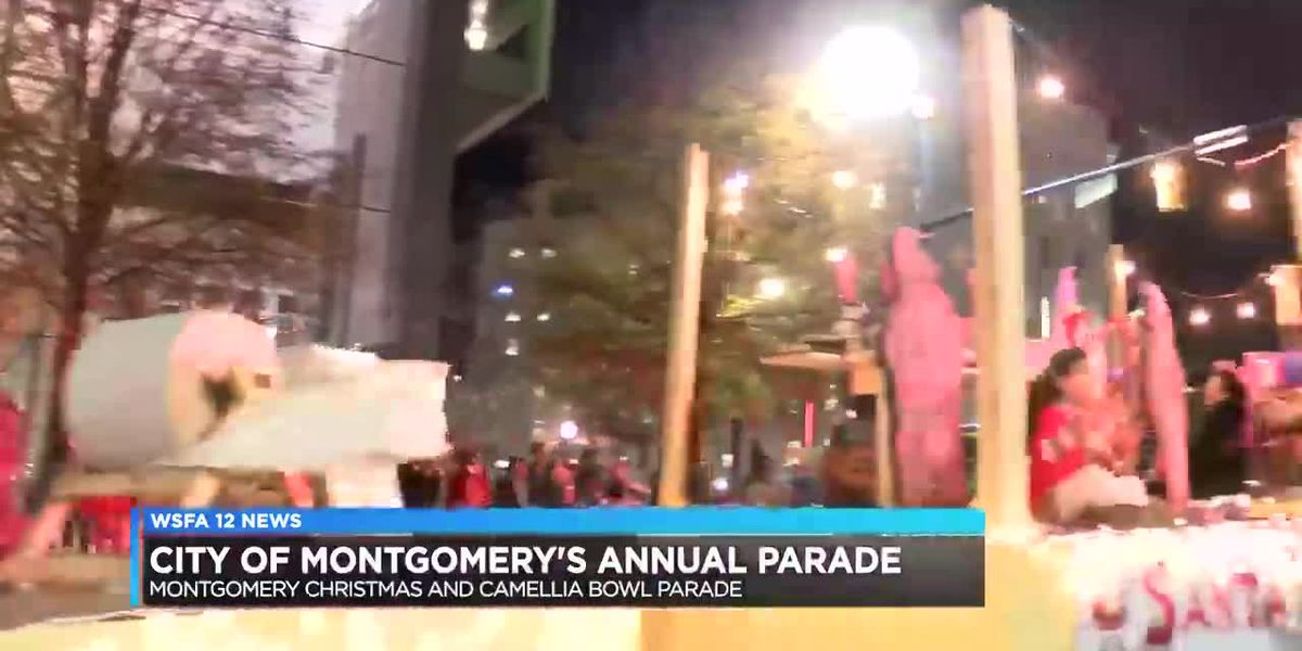 2018 City of Montgomery, Camellia Bowl Christmas Parade a success