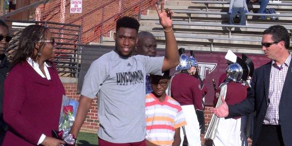 Trojan John Johnson reflects on his time at Troy