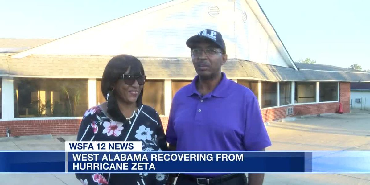West Alabama recovering from Hurricane Zeta