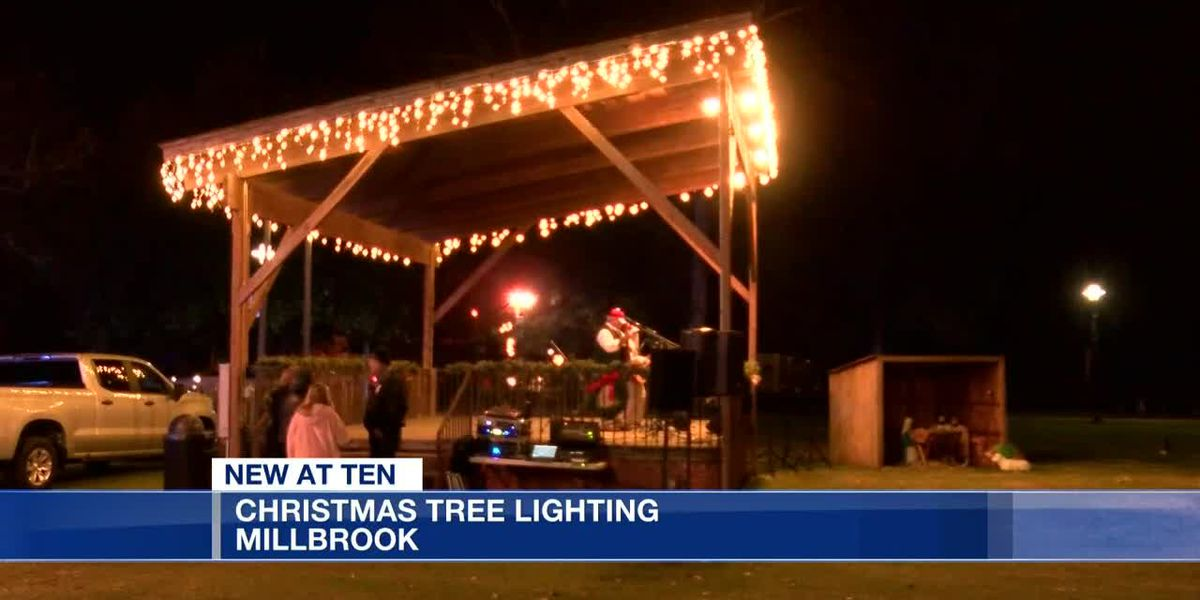 Millbrook Christmas tree lighting
