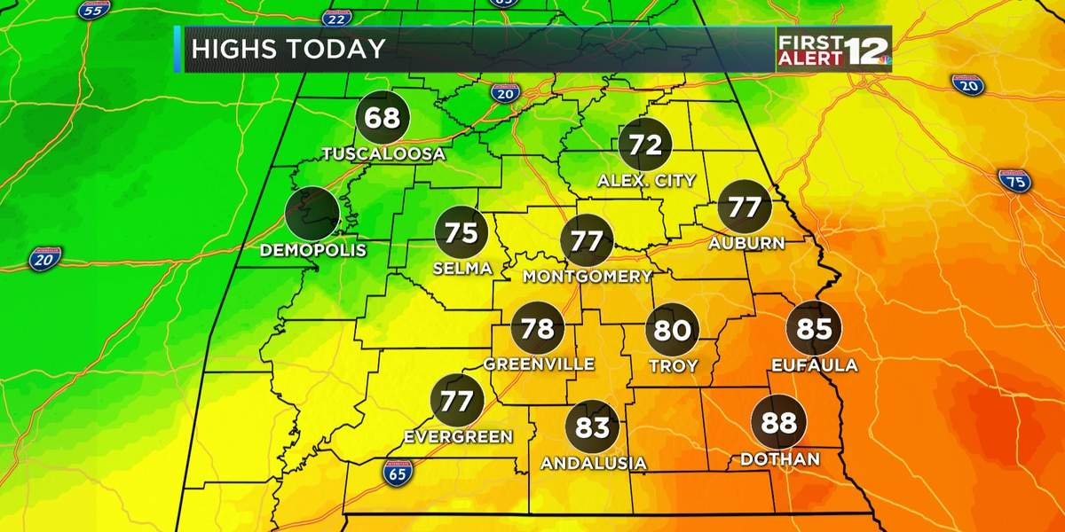 First Alert: Cooler, fall-like air has returned!