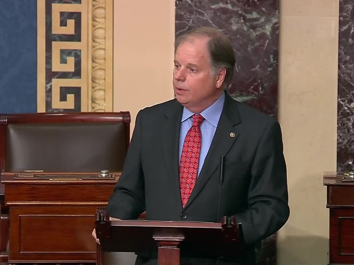 Sen. Doug Jones won't support confirmation of Supreme Court nominee before election