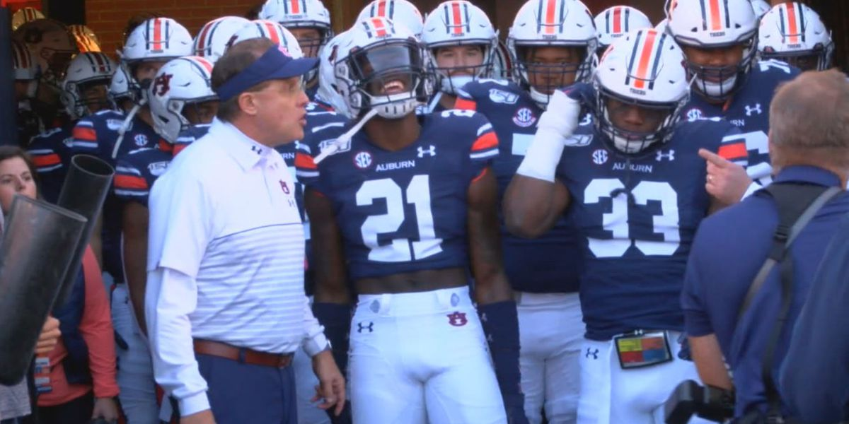 Coach Gus Malzahn on turning the corner after Georgia loss and support for Brother Chette
