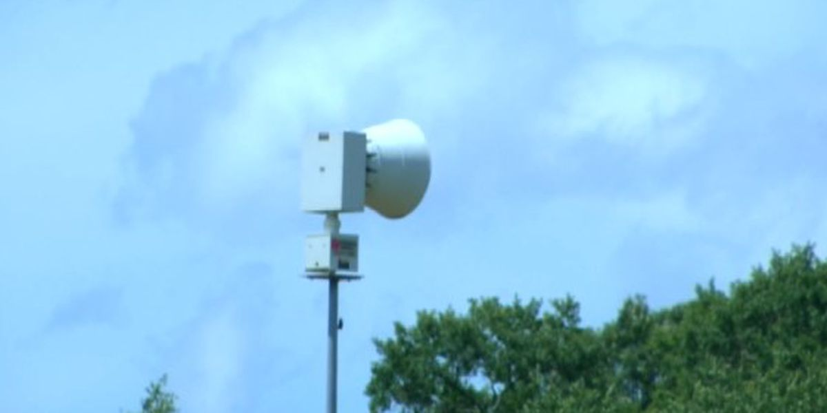 UPDATE: Autauga County weather siren issues fixed ahead of severe weather