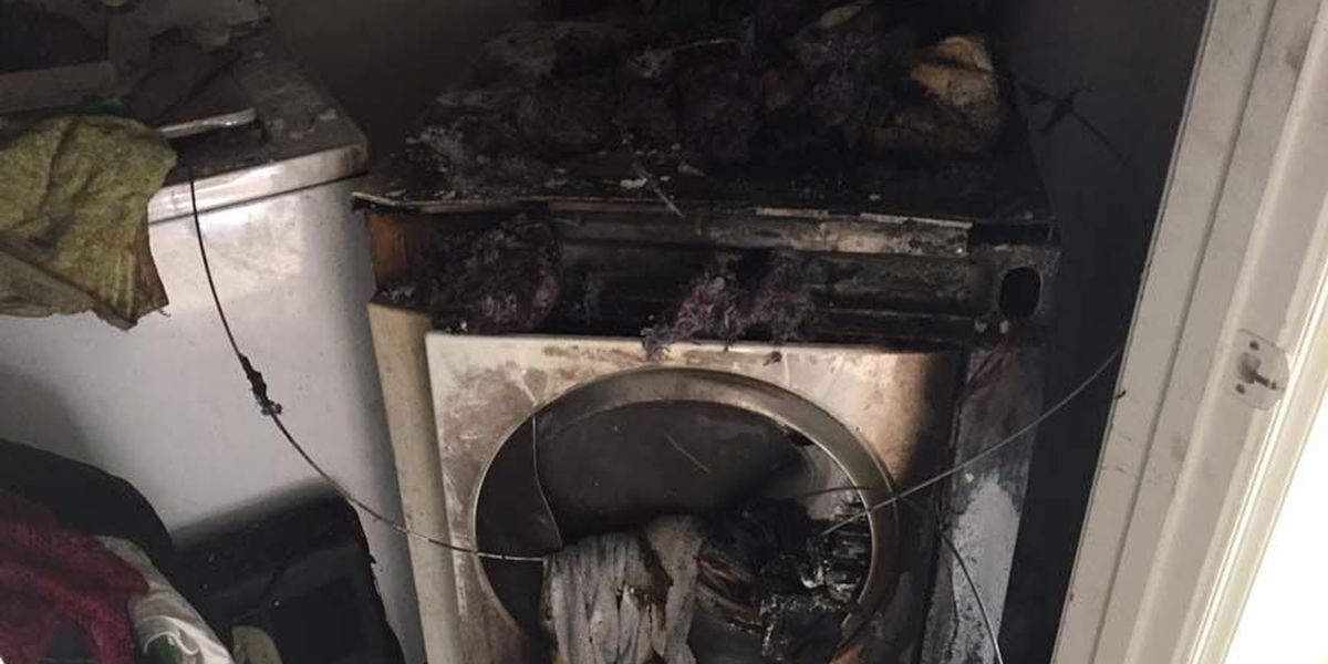 Not cleaning dryer vent could be a fire hazard