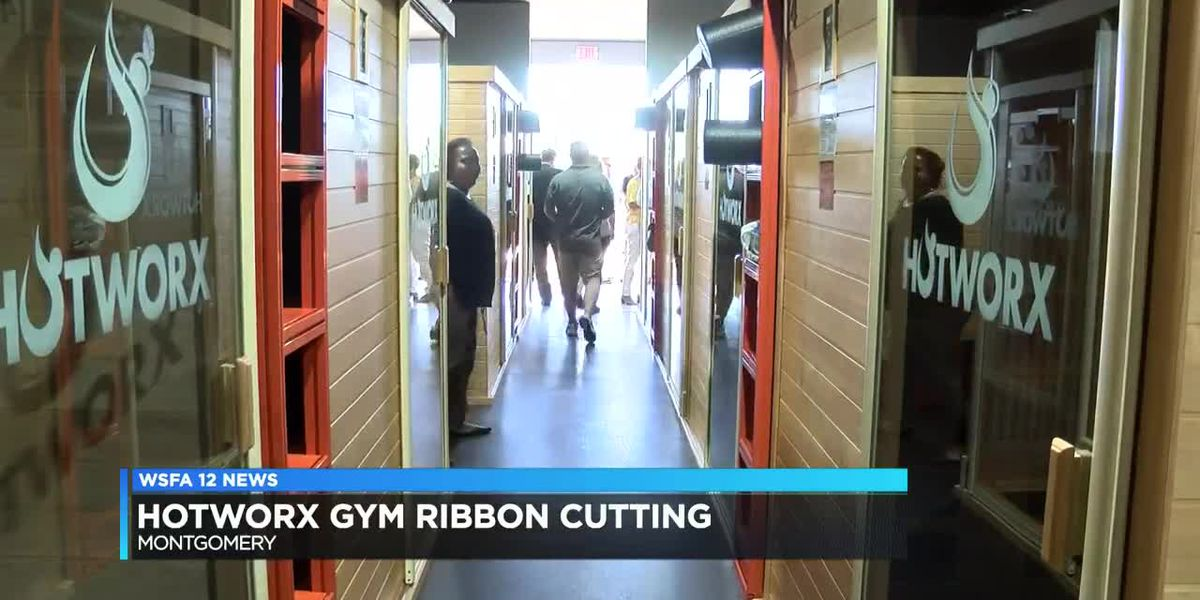 Ribbon cut on new hot box gym in Montgomery