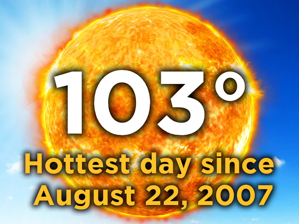 Record-smashing heat in Alabama