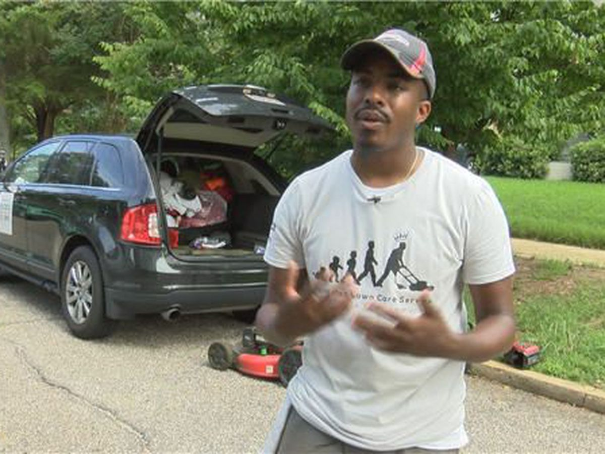 Man mows lawns for veterans in all 50 states