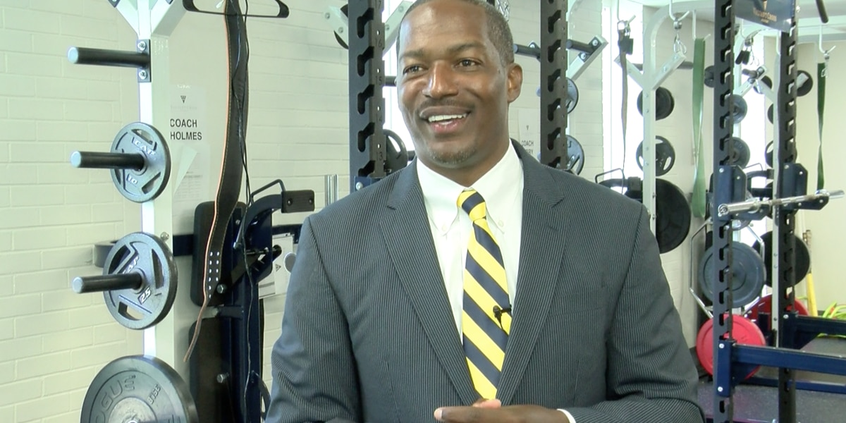 Meet Valiant Cross Academy's new head football coach and assistant principal of culture