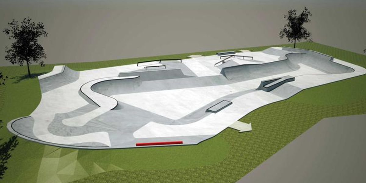 Phase 1 of new Auburn skate park set to roll out soon