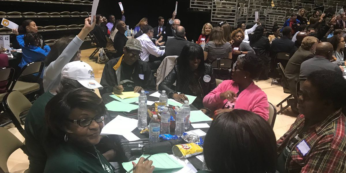 Community Summit for Envision Montgomery 2040 draws hundreds
